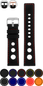 Rubber Rally Strap with Stitching