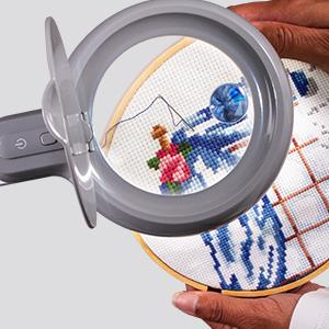 optical grade magnification magnifier spot illuminated high quality fine details closeup clarity