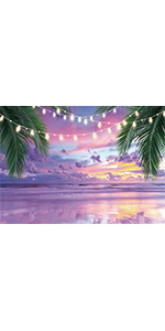 Purple Sea Backdrop