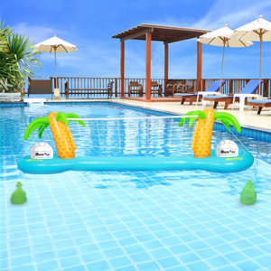 Inflatable Pool Volleyball Game Set
