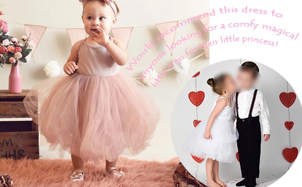 So Cute! Comfortable easy dress for toddler girl!