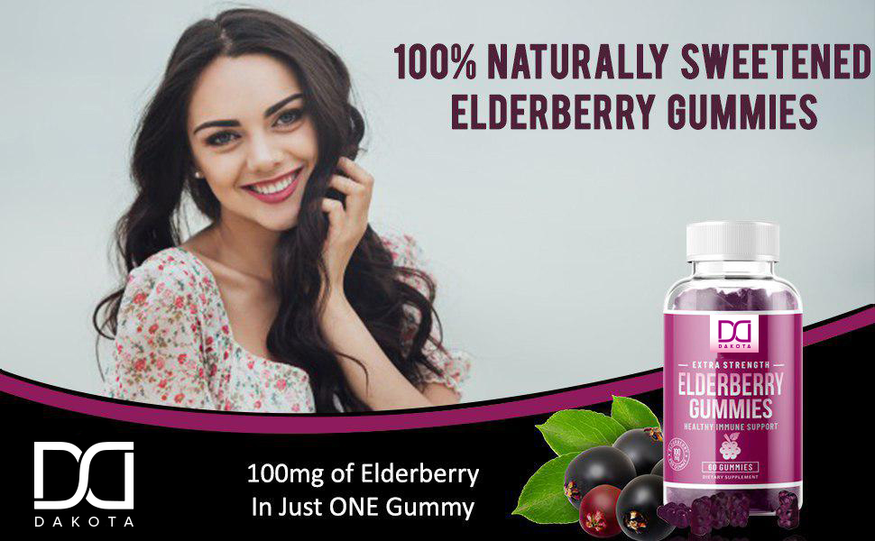 elderberry gummies for adults toddlers kids organic vegan capsules pills tea syrup drops shots