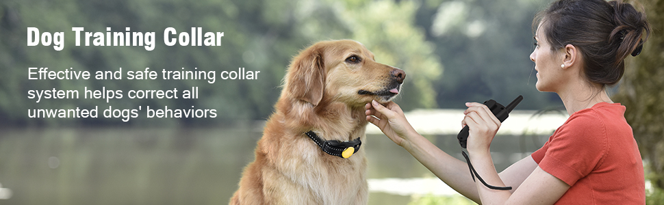 Bousnic Dog Training Collar for small medium large dogs