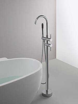 High-Arc Spout Freestanding Tub Faucets
