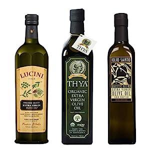 Dark Bottles of Olive Oil