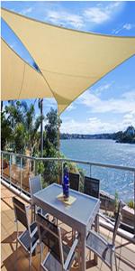 WOLTU Pantalla para balcón Protección de privacidad HDPE ...