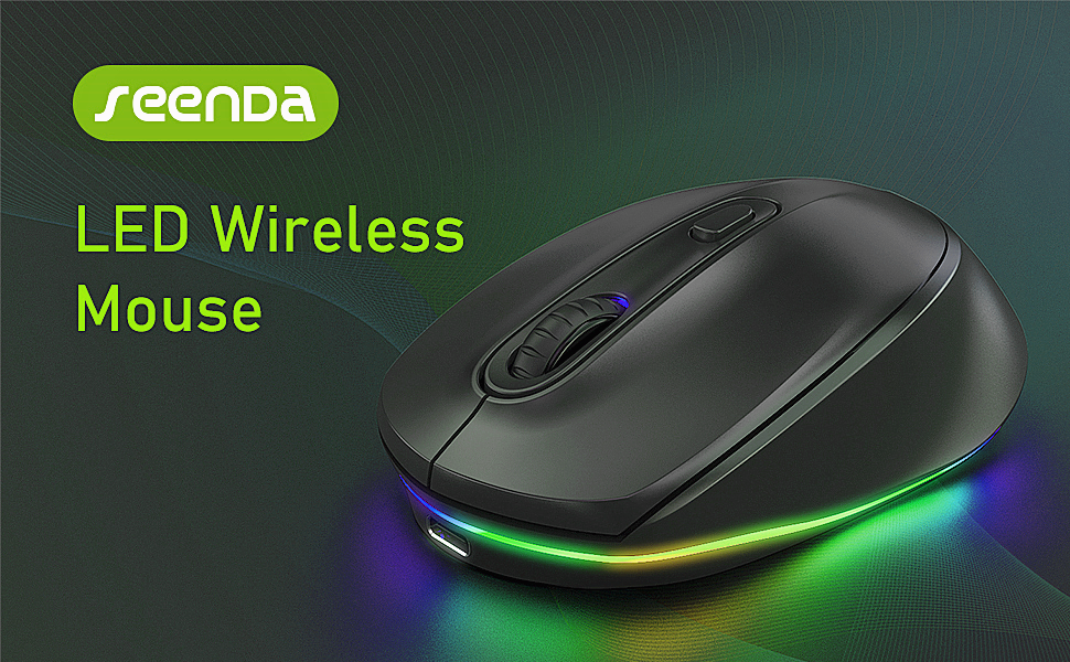 LED wireless mouse