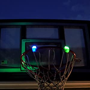 tangle nightball basketball hoop lights glow led lightup sports outdoor accessories