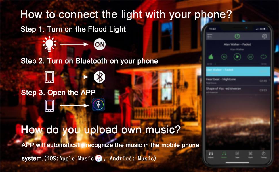 Flood Lighting RGB