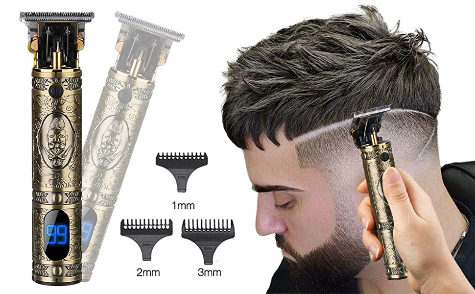 2020 New Cordless Zero Gapped Trimmer Hair Clippers