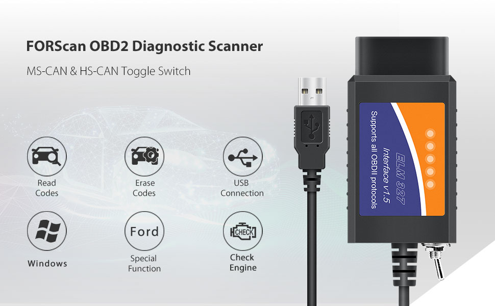 Forscan obd2 scan tool