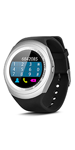 Smartek Smartwatch Reloj Inteligente con SIM, Pulsera de ...