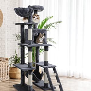 cat tree tower condo stratching posts