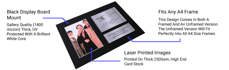 Gallery Quality (1400 micron) Thick, UV Protected With A Brilliant White Core
