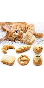 Bread Catnip Toys