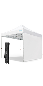 easy pop up canopy tent with sidewall
