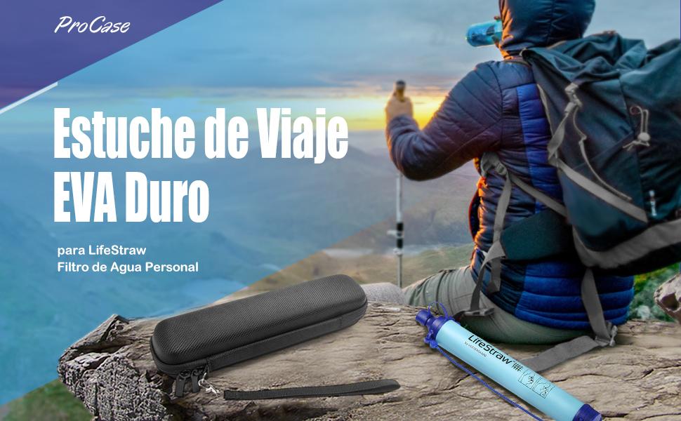 ProCase Estuche de Viaje para LifeStraw Filtro de Agua Personal ...