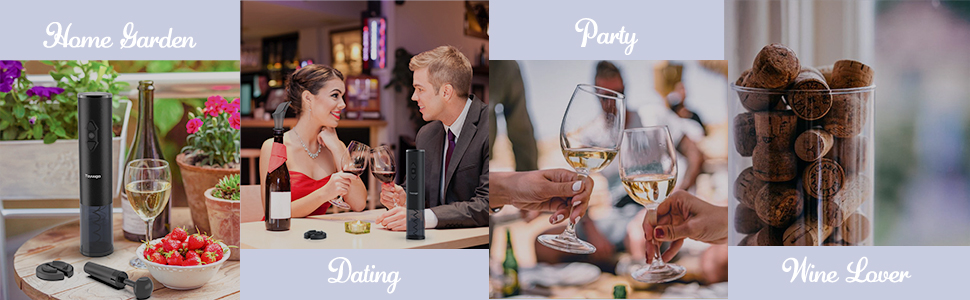 home garden dating party wine lover
