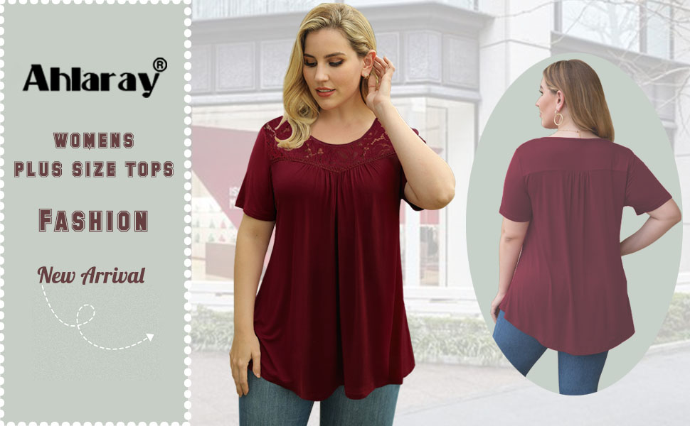 womens plus size tops
