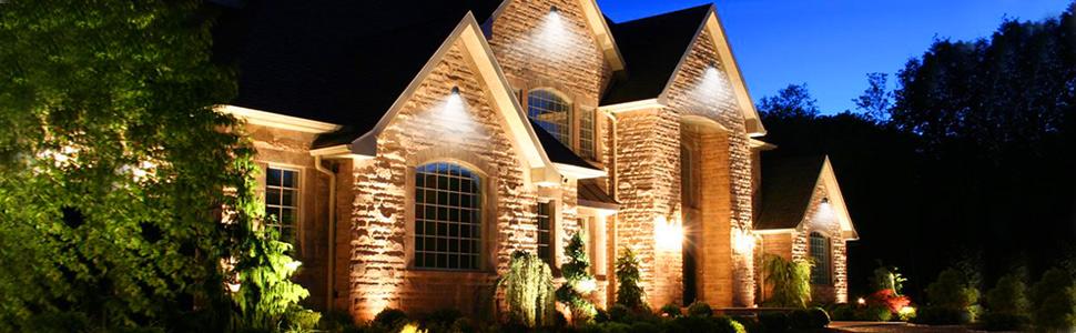 landscape lights effect