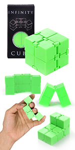 Green Infinity Cube