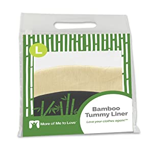 bamboo tummy liner large