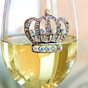 The Queens' Jewels - The Orginal Jeweled Wine Glass that started it all