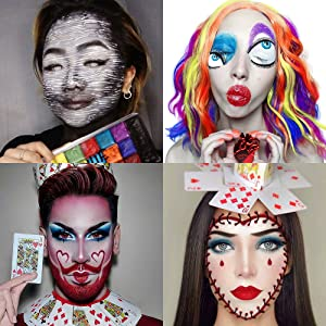 painting makeup looks