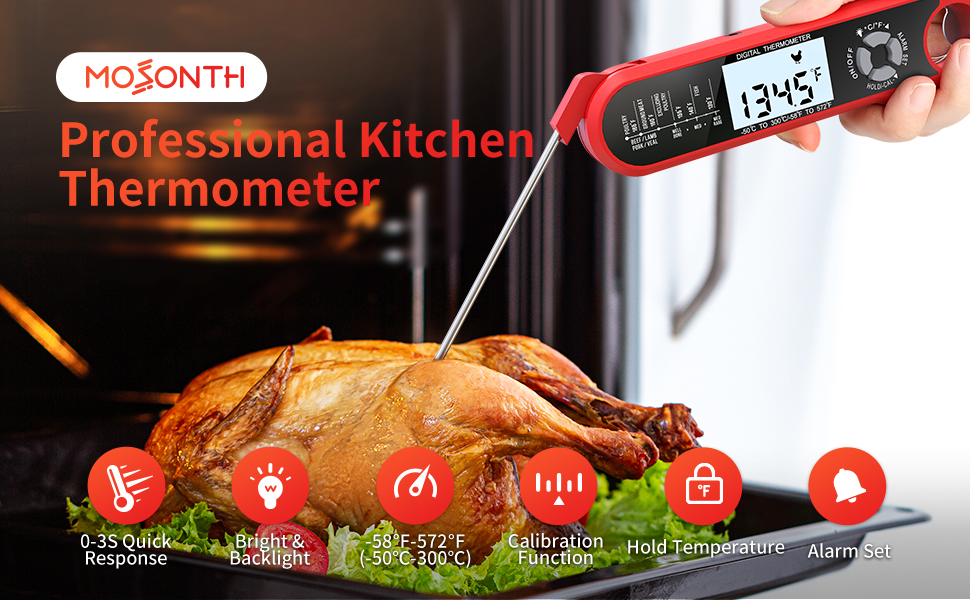 MOSONTH Meat Thermometer