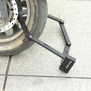 Bike Lock Heavy Duty Bicycle U-Lock14mm Shackle 10mm x1.8m Cable with Mounting Bracket Weatherproof