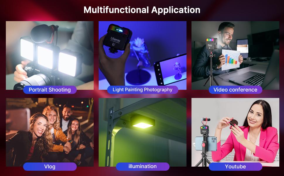 vlog light, led light panel