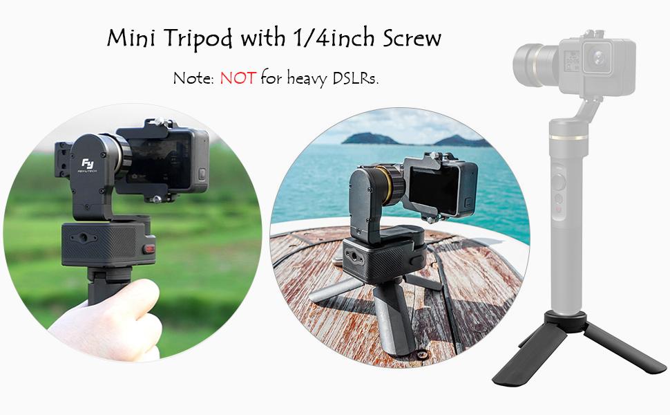 Andoer Mini Stativ Handy Kamera Tripod Und Grip Kamera