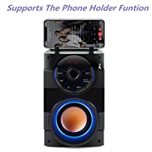 Support The Phone Holder Function