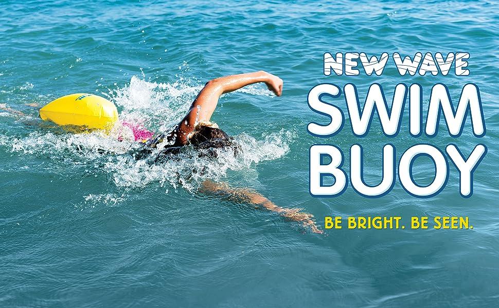 New Wave Swim Bubble swim buoy open water swim buoy triathlon open water swim buoys float speed