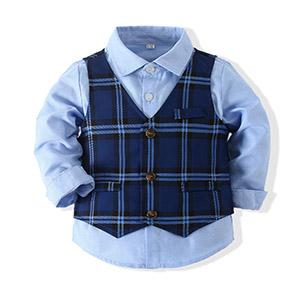 Baby boy shirt suit