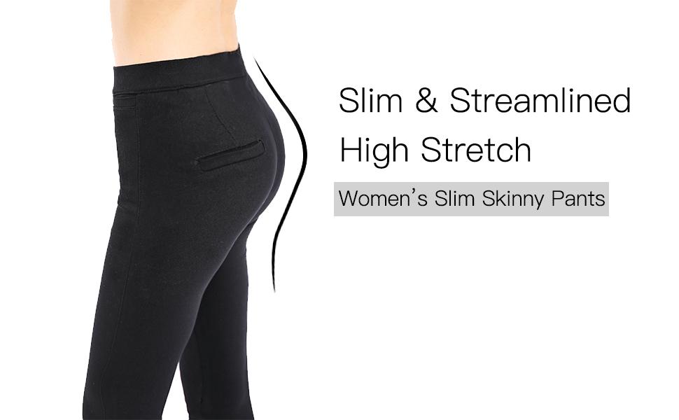 Slim Skinny Pants
