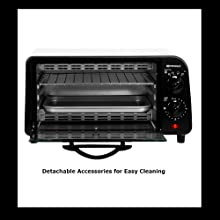 DETACHABLE ACCESSORIES FOR EASY CLEANING