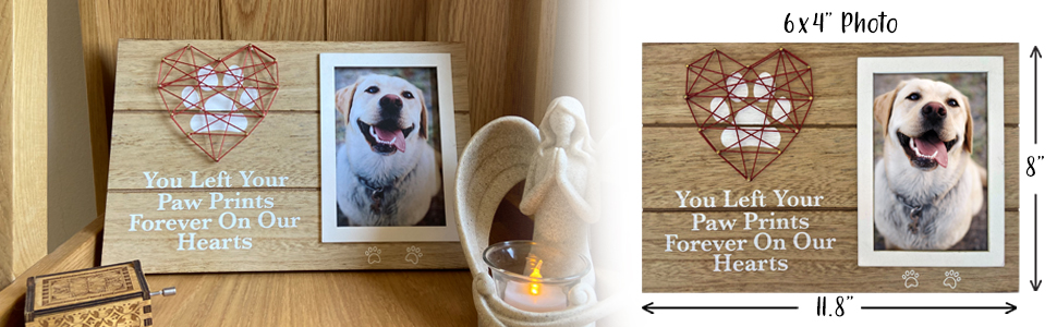 Oakiway dog picture frame