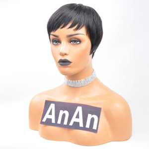 short human hair wigs pixie cut wigs short cut wigs for black women brazilian virgin human hair wig