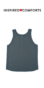 Mastectomy Recovery Tank Top with Drain Pocket & Snap-Access