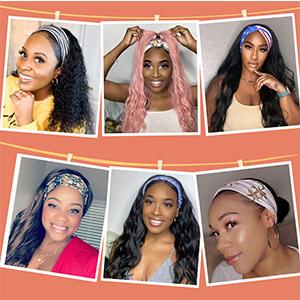 headband wig headband