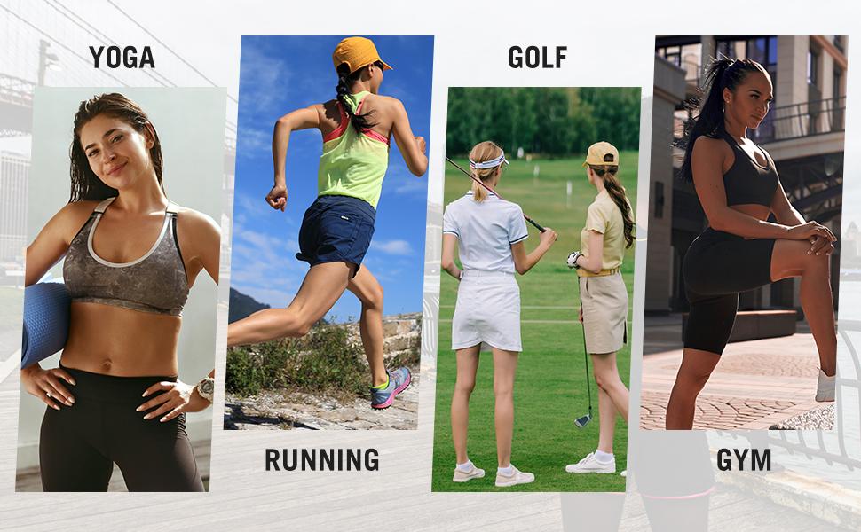 golf shorts for women