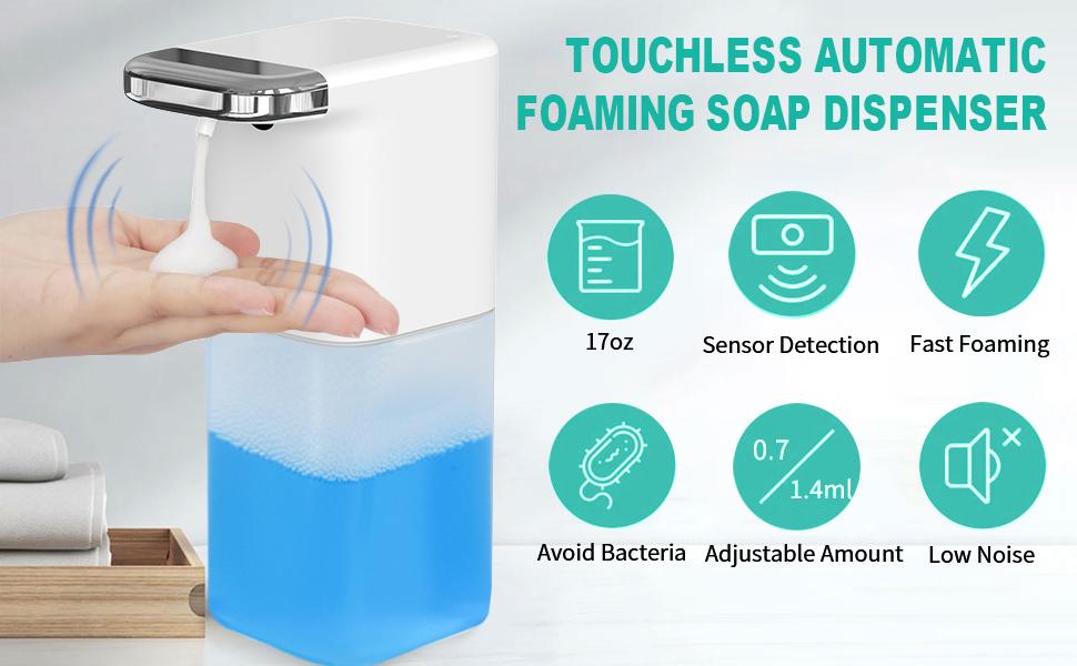 touchless foam dispenser
