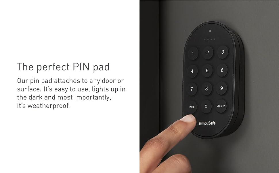 simplisafe, keyfob, sensors, kit, security system, key fob, arm, disarm, panic button
