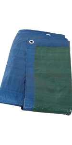 multi-purpose green/blue tarp