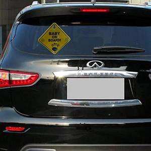 Baby On Board Sticker Sign