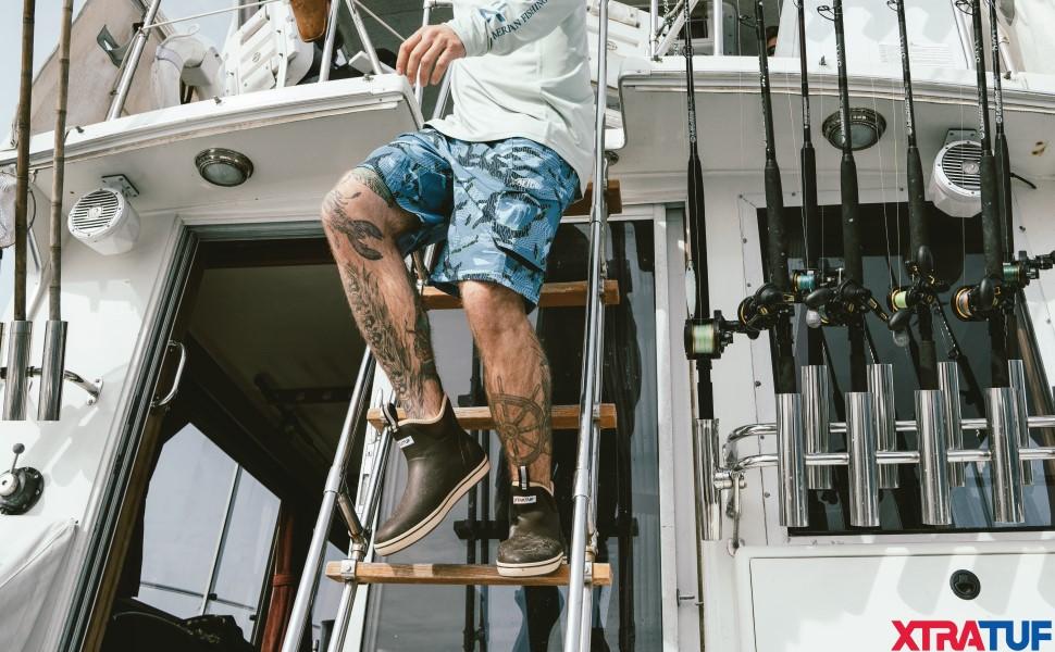 Xtratuf Men's 6 Inch Ankle Deck Boot
