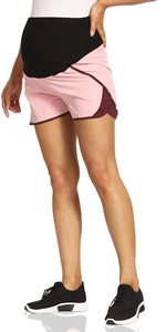 gym shorts for women with pockets maternity athletic shorts comfy shorts for women maternity clothin