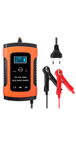 Chargeur de batteries 12 V.
