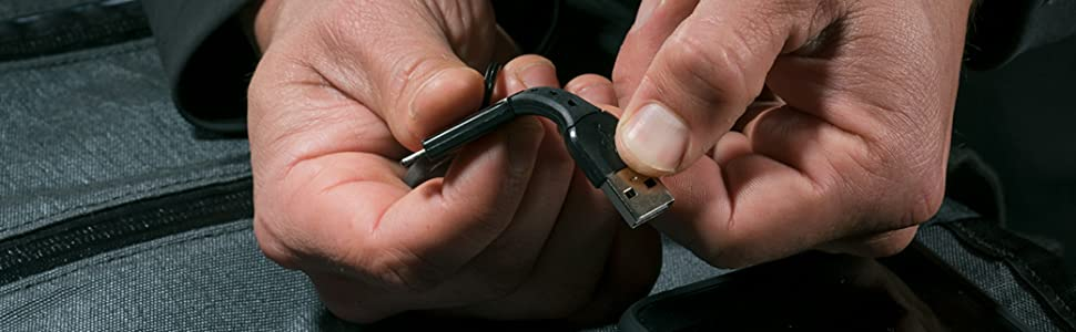 Nomad Key  Micro-USB to USB-A